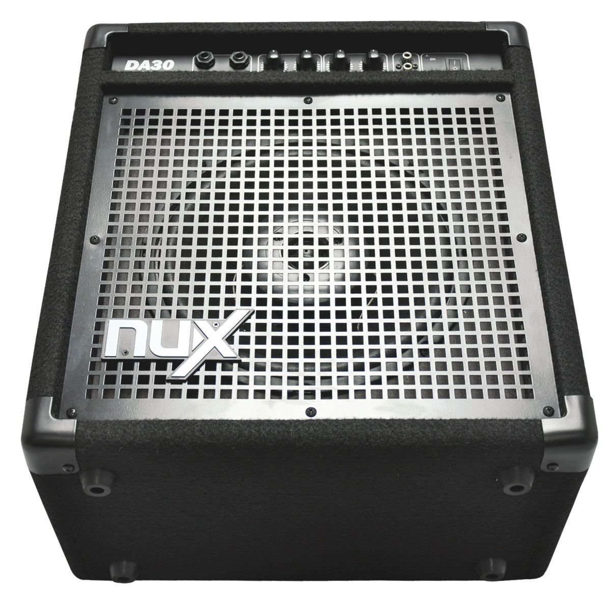 nux da30 30 watt electronic drum monitor amplifier. Black Bedroom Furniture Sets. Home Design Ideas