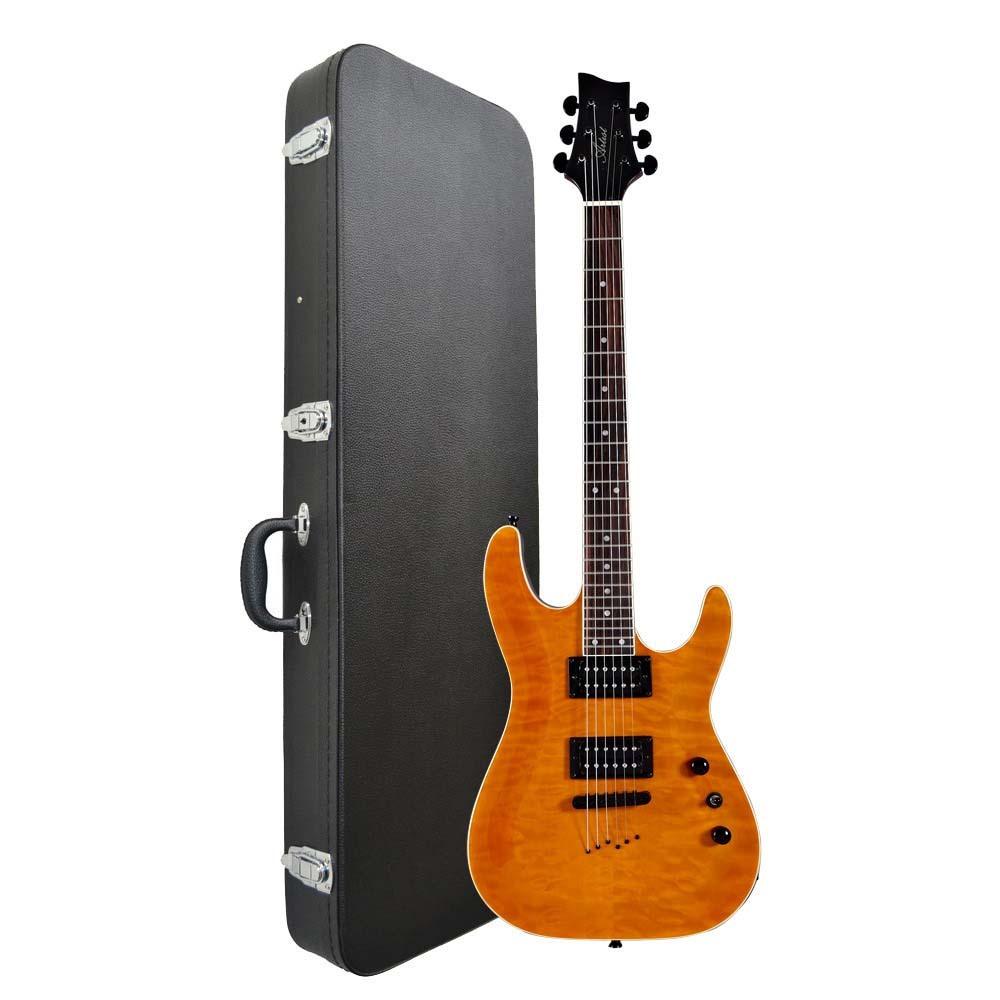 artist gnosis6 c super st style electric guitar case. Black Bedroom Furniture Sets. Home Design Ideas
