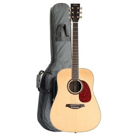 DS100 Solid Top Dreadnought Acoustic Guitar & Tuner