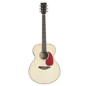 MJUMB Mini Jumbo Acoustic Guitar with built-in tuner