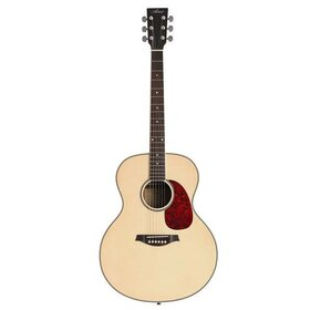 JUMB Jumbo Acoustic Guitar with built-in tuner