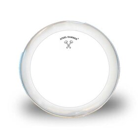 ZP1008 8 Inch Drum Skin/Head Single Ply Sound Focus - Clear