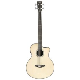Artist ABJ50CEQ Acoustic Bass with Cutaway and EQ  - Gloss Natural
