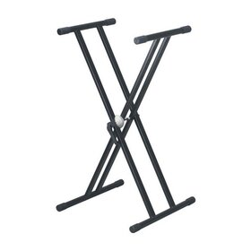 KS002 Height Adjustable Keyboard Stand Double Braced