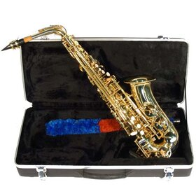 AX100 Alto Saxophone Eb  Complete Kit Inc Hard Case