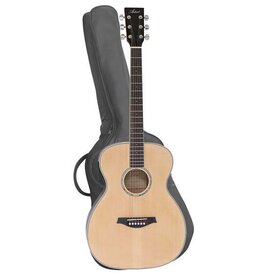 LSPOM Extra Small Beginner Acoustic Guitar Pack - Gloss Natural