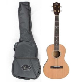 Artist UKT200 Ukulele, Solid Top, Tenor  Size + Bag