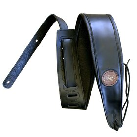 Artist 853 Artist High Quality Leather Guitar Strap Black