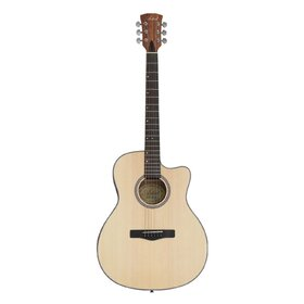 HW41JCM305 Solid Top Acoustic Guitar with Cutway