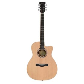 "HW41JCM307 41"" Solid Top Jumbo Acoustic Guitar with Cutway"