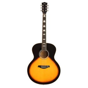 J200TSB All Solid Spruce Jumbo Guitar - Tobacco Sunburst