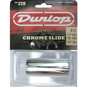 JD220 Jim Dunlop Chrome Guitar Slide -  Medium Wall