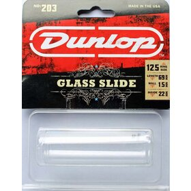 JD203 Jim Dunlop Glass Guitar Slide - Regular Wall, Large