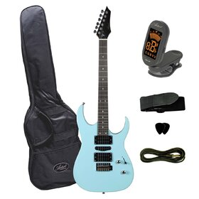 Artist AG45BLU Electric Guitar Plus Accessories - Blue