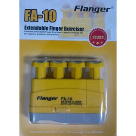 FA10 Yellow - Extend-O-Grip Hand Exerciser Extra Light Tension