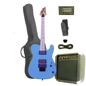 Artist TCD100SBPK Electric Guitar Pack with Double Locking Tremolo& Amp