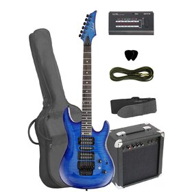 AG40FMBLSBPK Artist Blue Electric Guitar Pack + Amp & Accessories