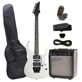 Artist AG70PK Electric Guitar Plus Amp & Accessories - White