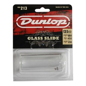 JD213 Jim Dunlop 213 Pyrex Glass Guitar Slide Medium - Heavy Wall