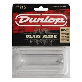 JD215 Jim Dunlop 215 Pyrex Glass Slide Medium - Heavy Wall