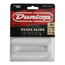 JD202 Jim Dunlop 202 Pyrex Glass Slide Medium - Regular Wall