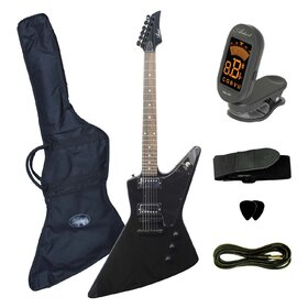 Artist FLYBK Electric Guitar - Black