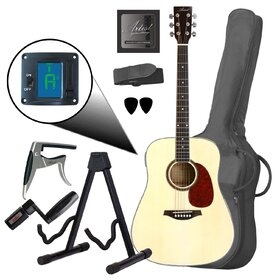Artist Acoustic Guitar Value Pack