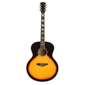Artist J2EQ Acoustic Guitar, Solid Wood Jumbo-Large with EQ