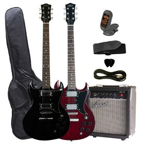 Artist SGPK Electric Guitar Plus Amp and Accessories