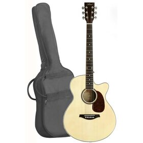 LSPSNT(BB)2 Small Acoustic Cutaway Guitar Pack - Gloss Natural - Factory Second