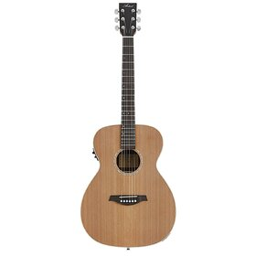 OM175EQ(BB) All Solid wood OM size Acoustic Electric Guitar - Demo Stock