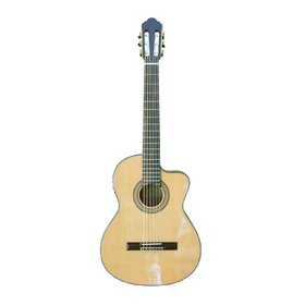 HG39303CEQ(BB) Solid Cedar Top Classical Electric Guitar with Cutaway& EQ