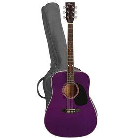 LSPPP (BB) Beginner Acoustic Guitar Pack - Purple