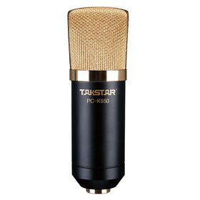 PCK550(BB) Microphone 34mm Large Gold-Plated Diaphragm Provides Clear, Exquisite and Mellow Sound Reproduction - Factory Second