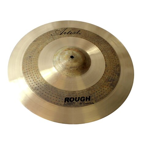 artist rlcr18 crash ride cymbal rough light 18 inch. Black Bedroom Furniture Sets. Home Design Ideas