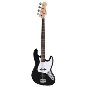 Artist JB2 Black Electric Bass Guitar Plus Accessories with BA30 Amp