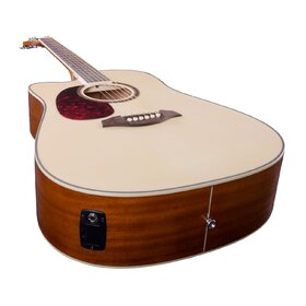 Artist LSPCEQNTL Left Handed Beginner Acoustic Electric Guitar - Natural