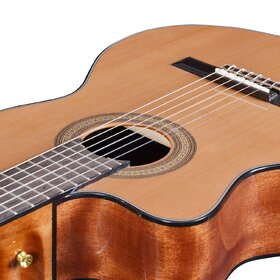 Artist HG39303CEQL Left Hand Classical Guitar Solid Cedar Top+EQ+Bag