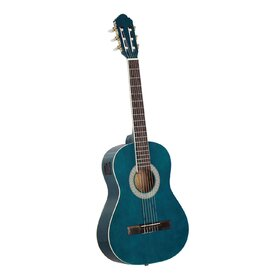 Customer Returned Artist CL34TBB 3/4 Size Classical Guitar Pack, Nylon String - Blue