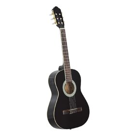 Customer Returned Artist CL34BK 3/4 Size Classical Guitar Pack, Nylon String - Black