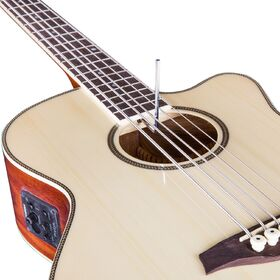 Factory 2nd Artist ABJ605CEQ 5-String Acoustic Electric Bass with Cutaway + EQ