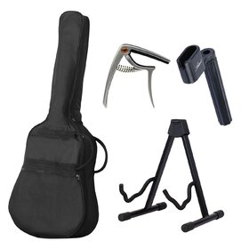 Artist LSPCEQTBB Acoustic Electric Guitar Ultimate Pack - Blue
