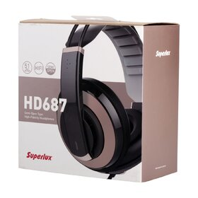 Superlux HD687 Hifi Stereo Monitoring Headphones
