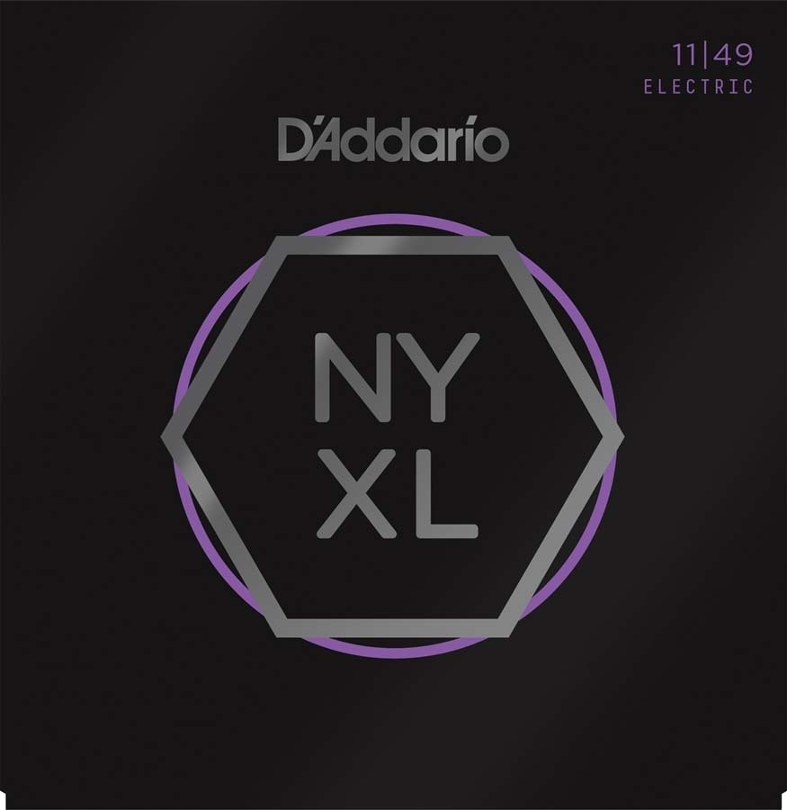 D'Addario NYXL1149 - Strength Core Guitar Strings Light 11-49