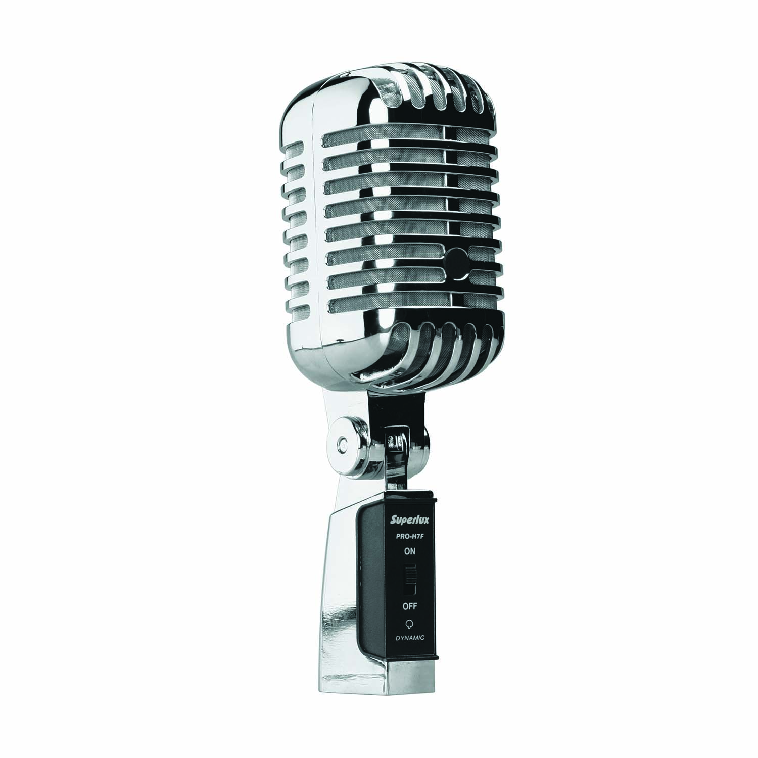 Superlux PROH7F Vintage,Style Supercardioid Microphone