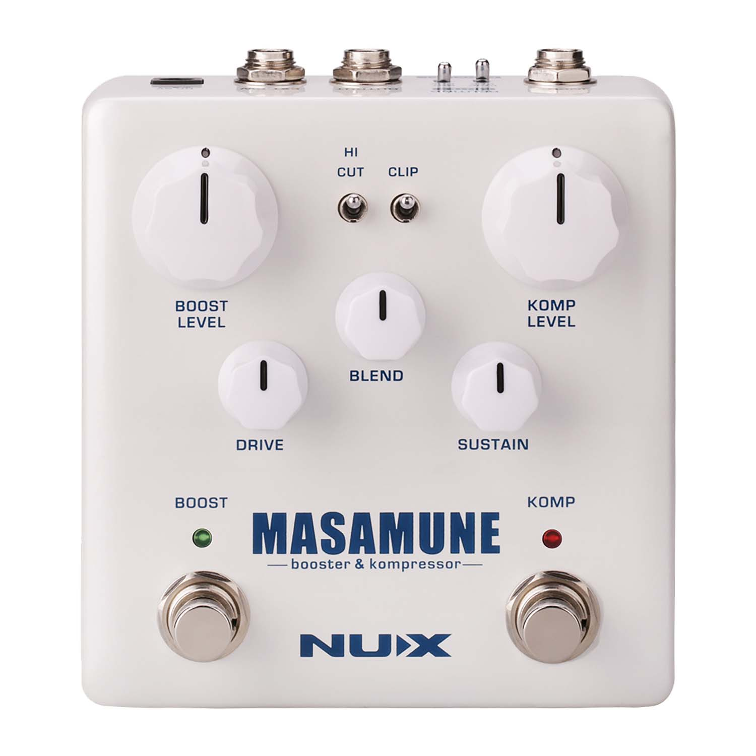 Nux NBK5 Masamune Booster and Compressor Effects Pedal