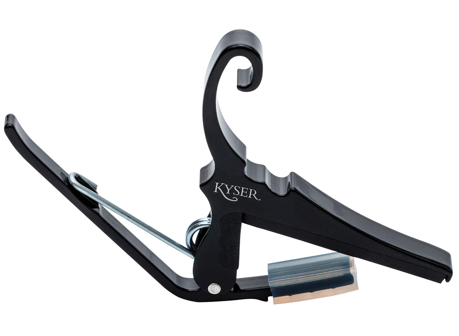 Kyser KGCBA Black Quick Change Capo for Classical Guitars - Black