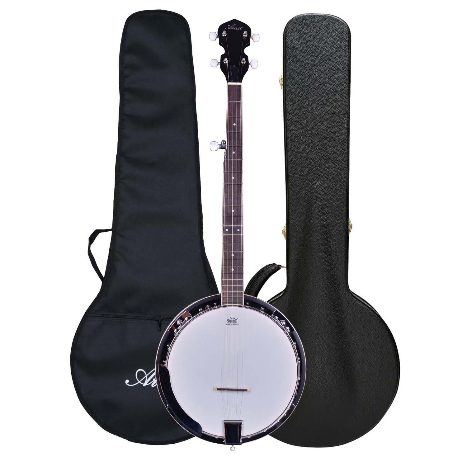 Artist BJ01 5 String, Bluegrass Banjo + Hard Case