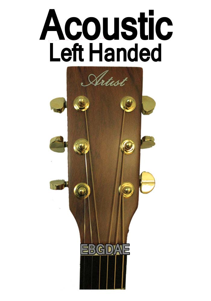 Left Handed Acoustic tuning sheet