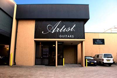 Artist Guitar Warehouse Image